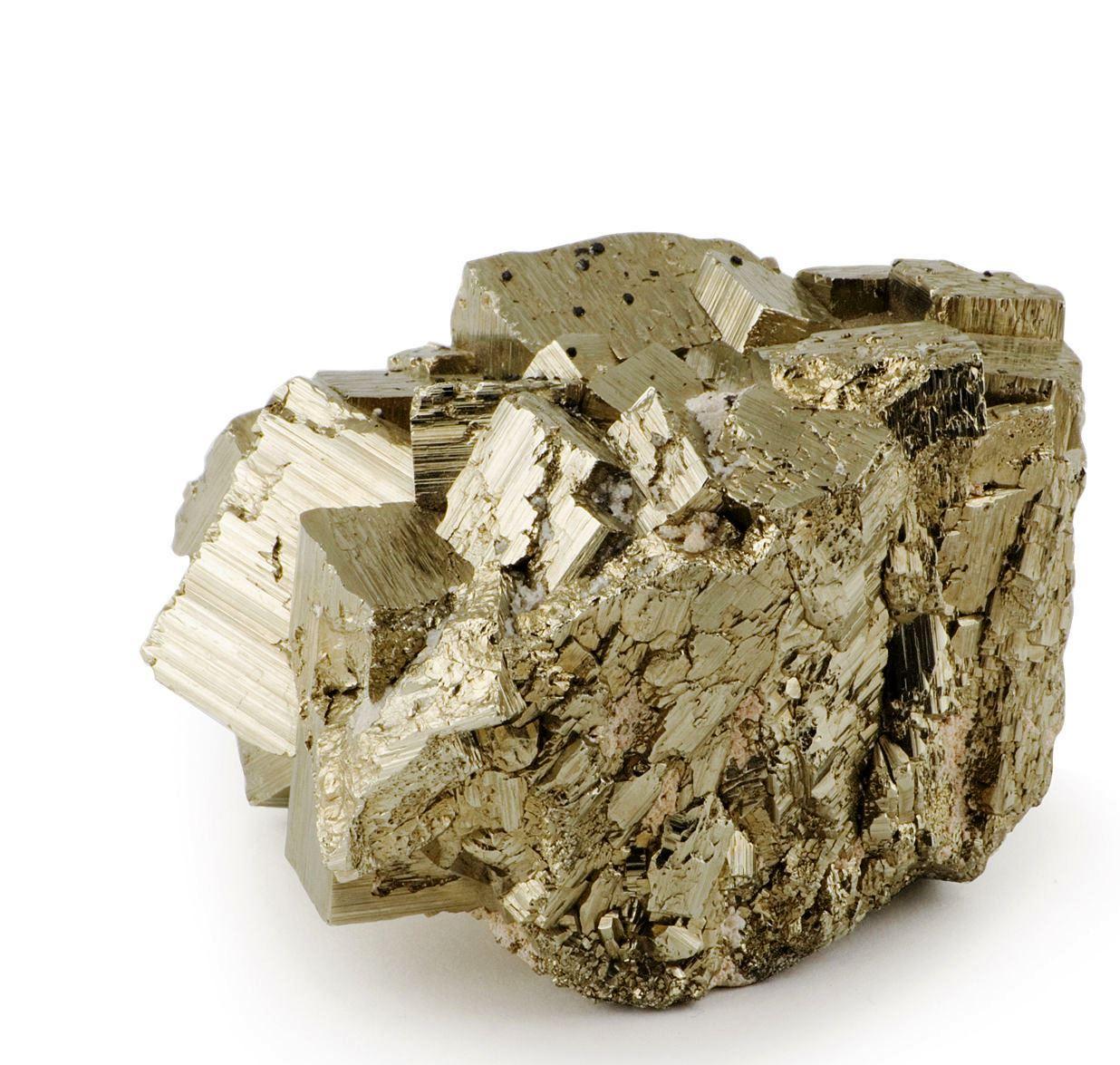 Камень с пиритом